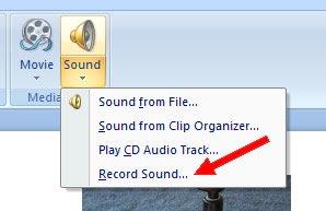 Record sound...
