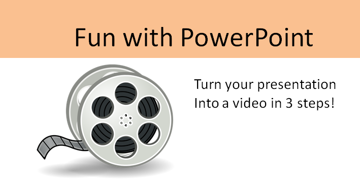 """Fun With Power Point"" - text header image"