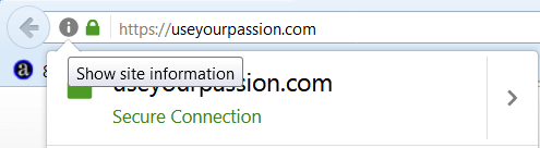 information icon in toolbar