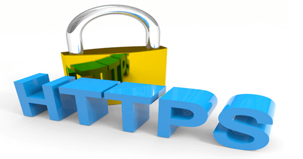 header image of a padlock with HTTPS text in front