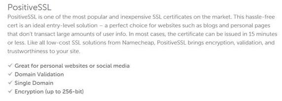 screen print of namecheap's Learn More link